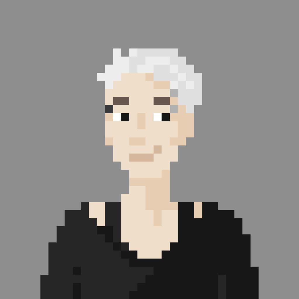 Pixel portrait of Shana Marinitisch